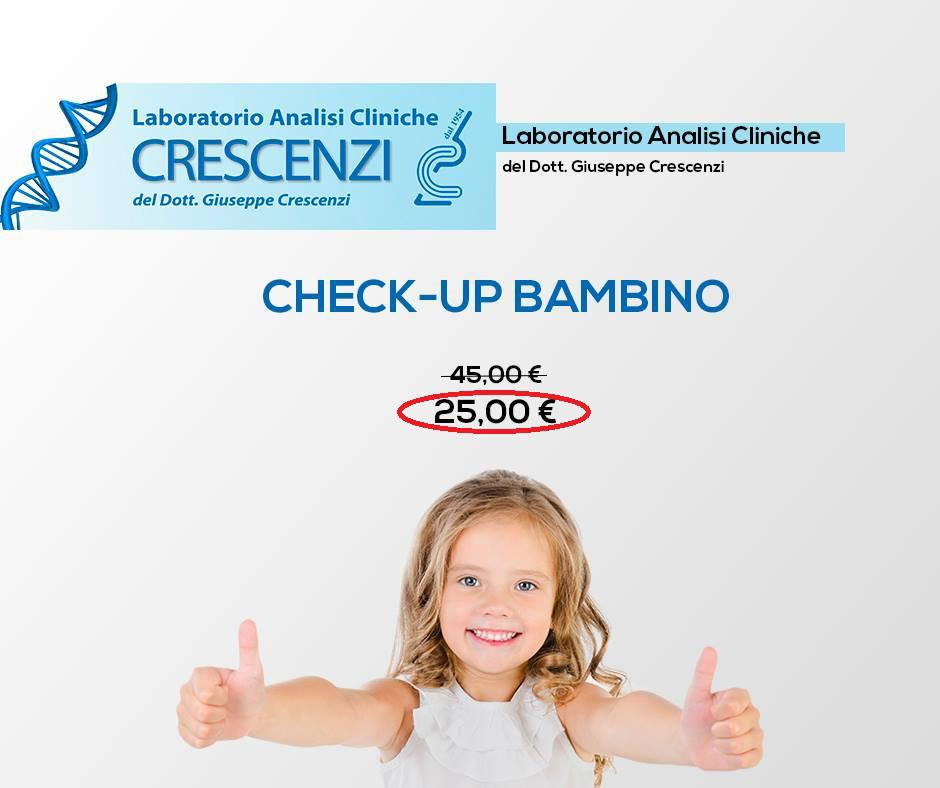 OFFERTA - CHECK-UP BAMBINI